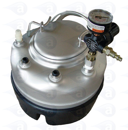 3.8 Litre Pressure Pot Stainless Steel Tank 0-60 PSi