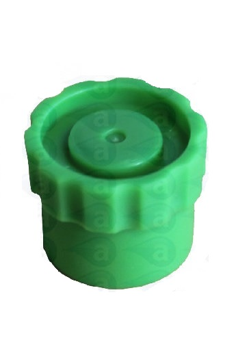 800-GREEN luer lock tip cap seal stand up 8001038
