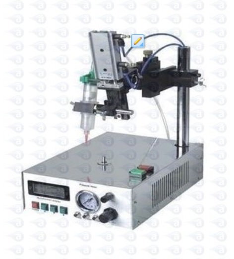 Z Axis Rotary Turn Table Dispensing Station