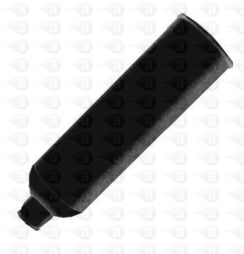 TS20C-BLACK 20oz Black HDPE Cartridge Adhesive Dispensing