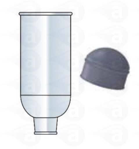 TS25CPB-LD-500 2.5oz LD Cartridge Plunger Techcon
