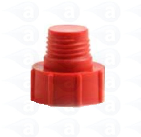 "TS3P Tip Cap Red 1/4"" NPT Cartridge Seal Techcon"