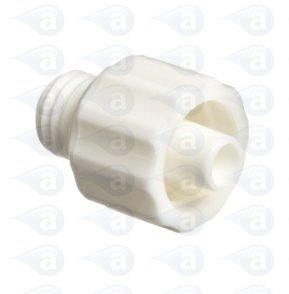 TSD931-49 Fitting Luer Lock White 1/4-28 Techcon