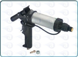 1:1 pneumatic dual cartridge gun